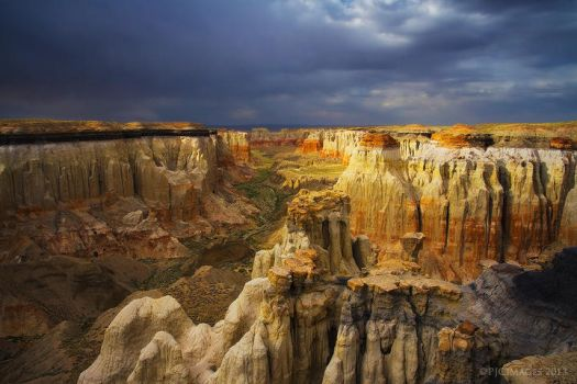 Canyon of Color by PeterJCoskun