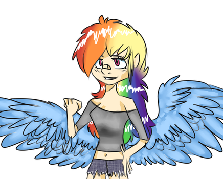 Hooman dashie by CandyEater9115