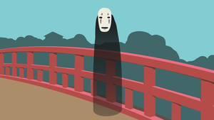 Minimal Noface Wallpaper by Cheetashock