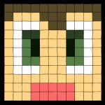 Pixel Face by Blazbaros