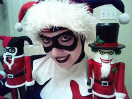 Harley with her Nutcrackers by ClownGirlHarley