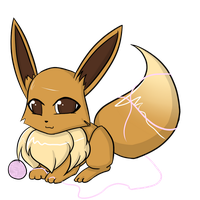 .:Eevee:. by Kaji-Sunlight