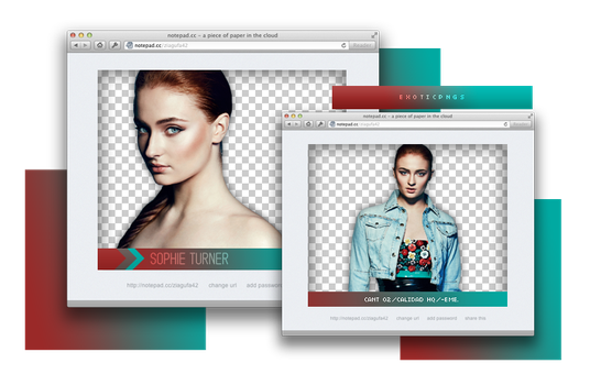 Pack Png 873 // Sophie Turner. by ExoticPngs