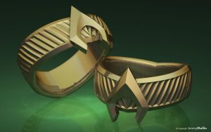 New Aquaman Ring by JeremyMallin