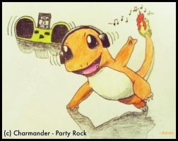 Charmander - Party Rock by AshenWings123