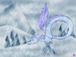 077. Ice by Dragoniangirl
