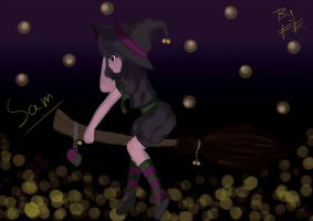 Little witch Sam by forgottenegao