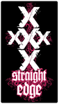 STRAIGHT XXX EDGE by XEmptyHeartsX