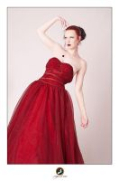 Red Dress Studio II by ChrissieRed