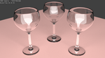 Wineglasses by Vaskania
