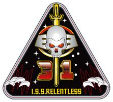 I.S.S.Relentless Mission Patch by stourangeau