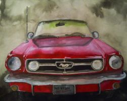 1965 Ford Mustang GT by XkrkX