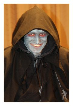 Darth Sidious at Desucon 2008 by wlkr