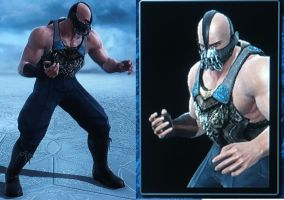 SCV custom TDKR Bane by BlueNinjaXX