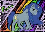 My Little Pony OC Moon Fart by orxlen