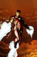 Iron Man (color) by efrain-elijah