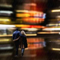 Walkin' in the rain by JacqChristiaan