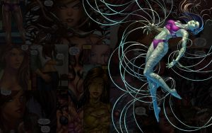 Witchblade.Swimming by Troilus
