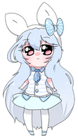 Bunny new look by Candy-hime