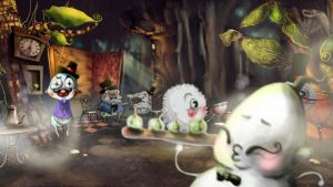 FDM .tea time in forest - 3D by catieboo