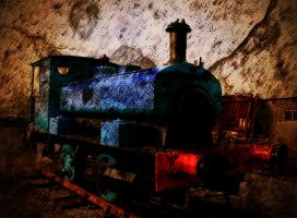 Old Train by nectar666