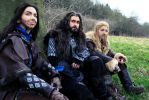 The Hobbit Cosplay - The Line of Durin by Hikarulein