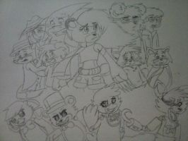 AniMorphic Heroes meets 5 Nights at Freddy's Cover by LoonataniaTaushaMay