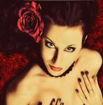 Red Rose by FairieGoodMother