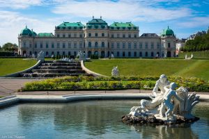 Wien - Belvedere Palace by Dragon-Claw666