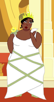 Plus Size Princess Tiana by ColdHeartedCupid