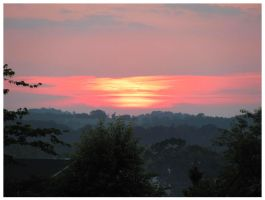 Greenback Sunset - May 2012 by CrystalMarineGallery