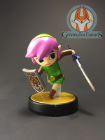 A Link to the Past Toon Link - Amiibo Custom by grinningfoxcustoms