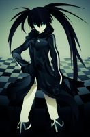Black Rock Shooter by saiki2