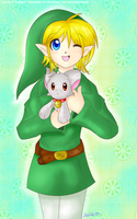 .:Link and plushie:. by Moonlight-Echidna