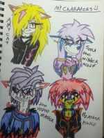 The Dark Shadows evil and good guys by 932-2063