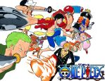 One piece strawhat group by SMALL-TOWN-HEROES
