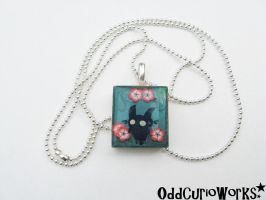 Little Forest Shadow Necklace by OddCurio