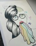 Hipster Chick by AlexisM96