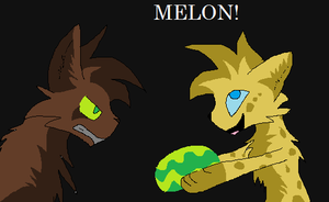 You no like melons? by Swift-The-Kitty