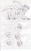 Dragon TF Sketches 3 by TimidTabby84