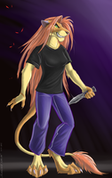 Omega_Lioness by Kotya-ra