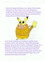 Pikachu Tiedup Roped up by Rafe15