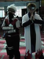 Kakashi and Yondaime by Karuka-Ikashi