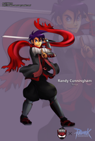 Randy Cunningham the Ninja by witch-girl-pilar