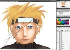 Naruto I'm working on by Squex