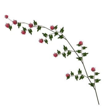 Pink Rose Vine by TexelGirl-Stock