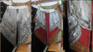 Assassin's Creed Ezio - coat tails. by TegwynDeForest