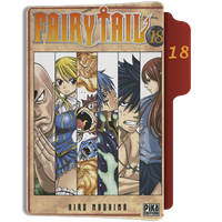 fairy Tail Tome 18 Folder by sostomate9