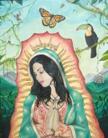 Our Lady of Guadalupe by Seth-Martini