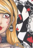 ACEO 139: Mad Alice by Forunth